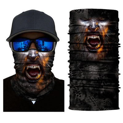ski skull mask face scarf neck warm snowboard motorcycle bike halloween