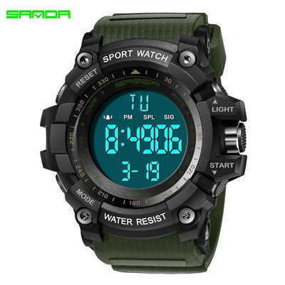 Men Sports Watches Military Digital Watch Alarm Stopwatch Clock Relogio Masculino