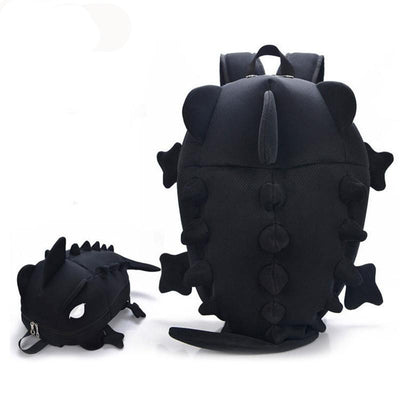 boys backpacks creative kid 3D monster dinosaur shape school bag children rucksacks