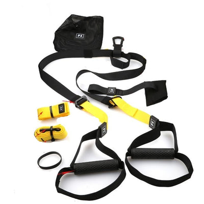 Gym fitness resistance bands hanging belt sport exercise pull rope straps trx training