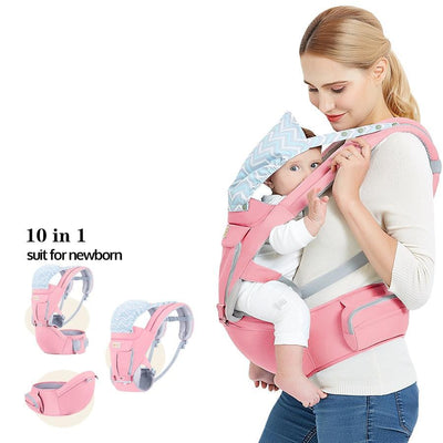 Baby carrier bag hipseat hood sling backpack wrap infant kangaroo bags