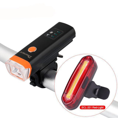 Bicycle light front light headlight LED Lantern Torch Cycling Light USB Charge Sensing Visible
