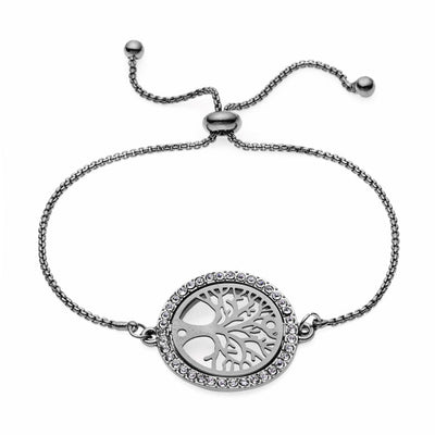Bohemian bracelet tree of life chain round bangles for women jewelry