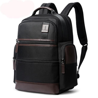 15.6 inch Laptop Backpack for Men USB Charge Trendy Business Bag American Design
