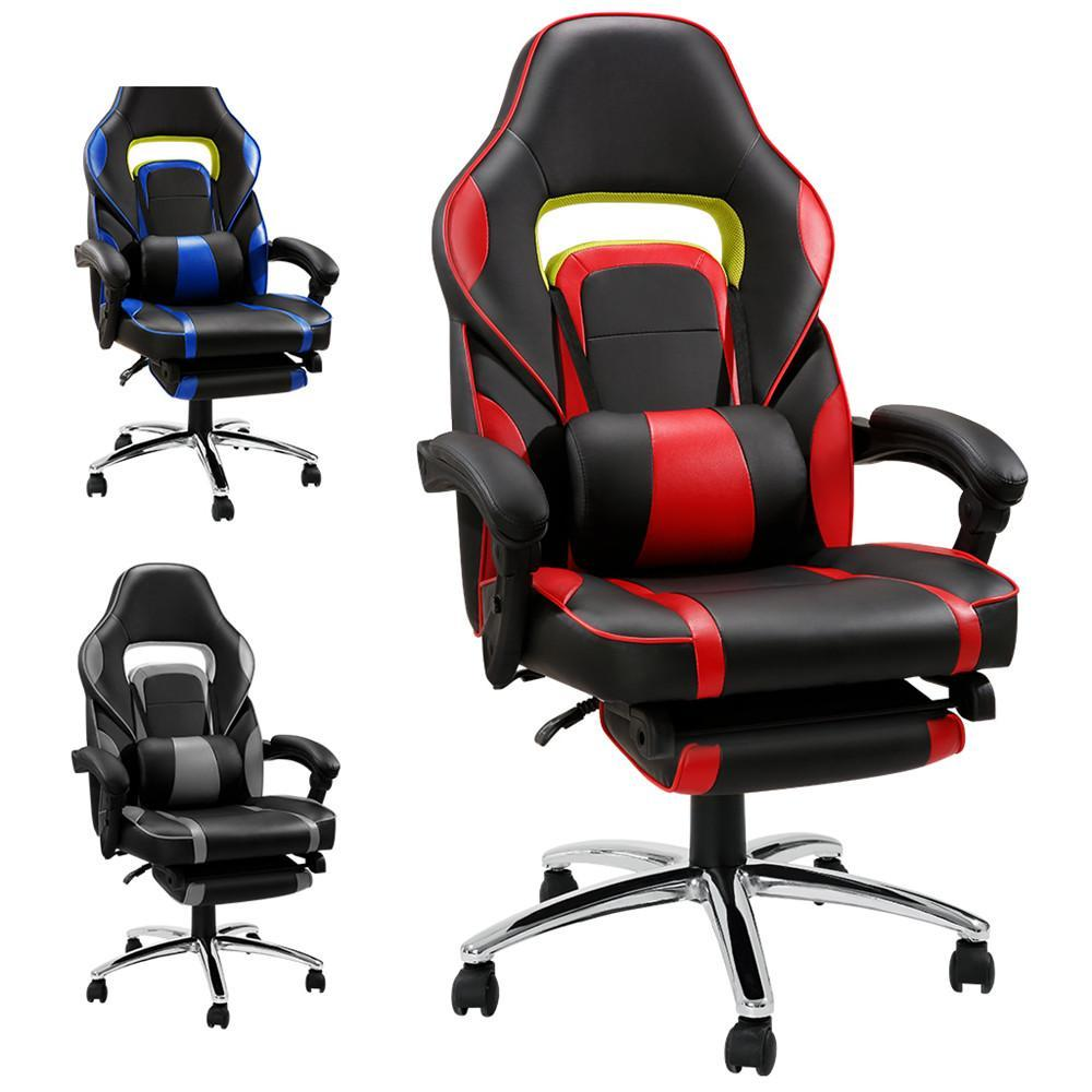 Pleasing Computer Chair Leather Rocker Style Racing Red Black Blue Gaming Chair Vs Office Chair Gmtry Best Dining Table And Chair Ideas Images Gmtryco