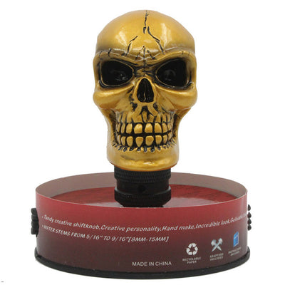 Custom shift knobs Skull Head Gear Universal Shift Knob Car Interior Accessories