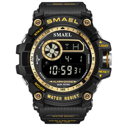 Sport digital watch men wristwatches running 50m waterproof big dial