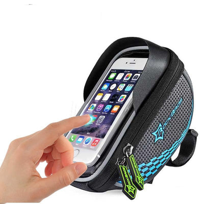 Cycling front bag smartphone GPS touch screen case bike bicycle accessories