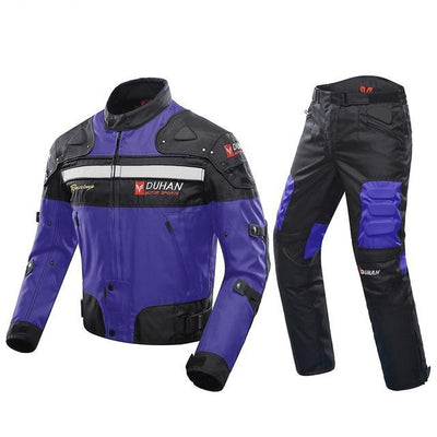 motorcycle jackets and pants off road body armor riding clothing set men