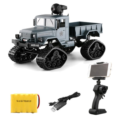 Military Truck RC Climbing Car RC Vehicles Toy Remote Control 0.3MP wifi FPV Camera 4 Wheel Drive Off-road