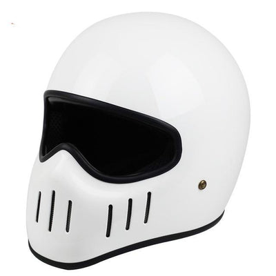 Rider motorcycle helmet vintage chopper helmets retro full face japan ghost style