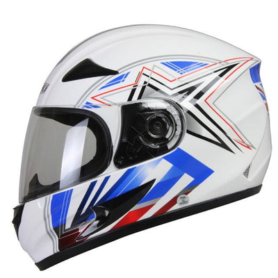 Motorcycle helmet skull style full face opal helmets men motorbike racing