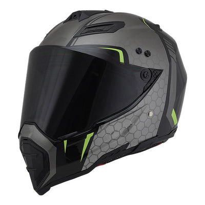 Motocross helmet racing casque de moto vintage retro motorcycle helmet off road skull style