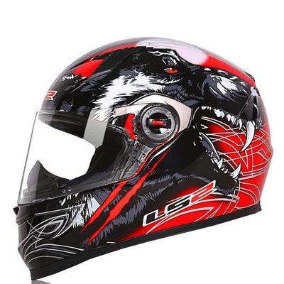 Riding helmet racing motorcycle helmets ABS protect red capacete de moto