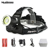Helmet headlight headlamp torch lights hunting fishing camping 4 Modes