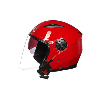 Half face motorcycle helmet racing four season safety for men women