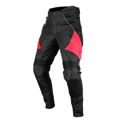 Motorcycle pants for men trousers riding removable protector guards