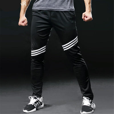 men fitness sweatpants running pants gym athletic sports leggings quick dry