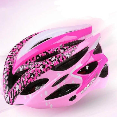 Ladies bike helmets safety women bicycle helmet mtb ultralight integrally molded warning light