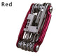multifunction bike repair folding cycling tools knife chain cutter wrench11in1