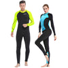 Swimming suits full body underwater jumpsuit snorkeling suits men women