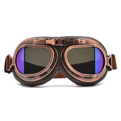Harley goggles helmets motorcycle goggles leather vintage pilot jet ski goggle