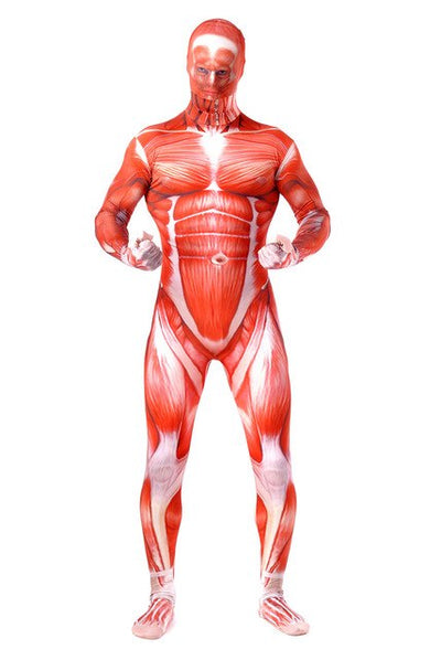 Titan muscle halloween costumes cosplay bodysuit men party club fancy gift