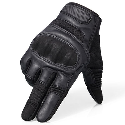 Vespa motorcycle gloves full finger vintage scooter glove for driving
