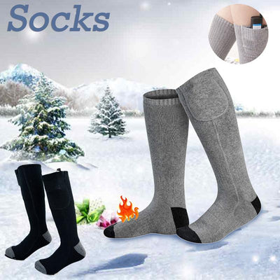 Thermal electric warming socks outdoor heated sock for men women