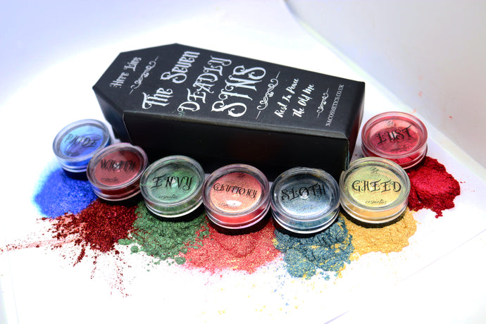 The Seven Deadly Sins Pigment Set