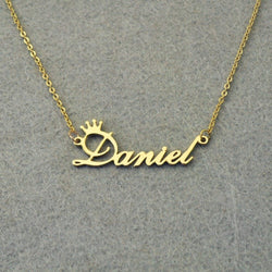 Women's Personalized Name Pendant Necklaces - ericallen