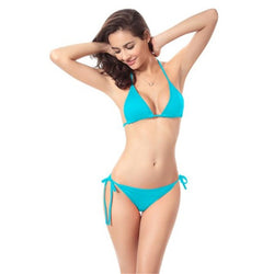 Women's Triangle Bikini Set - ericallen