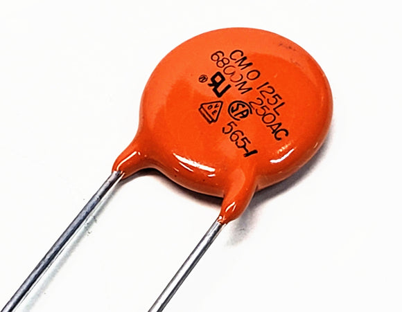 CMO 125LD68 Ceramic DIsc Audio Capacitor 0.0068 MFD 250VAC