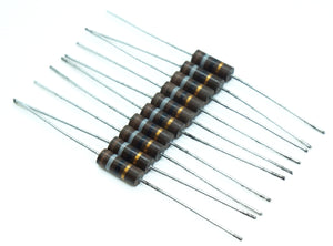Lot of 10 Power Resistors 1 Watt 18 Ohm 5% Tolerance