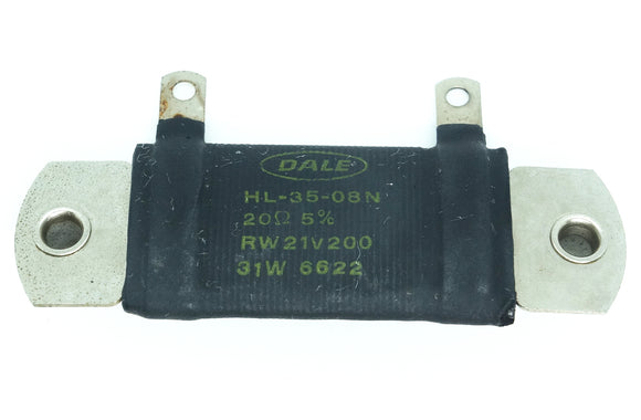 Dale RW21V200 Power Resistor 20 Ohm 31 Watt Chasis Mount