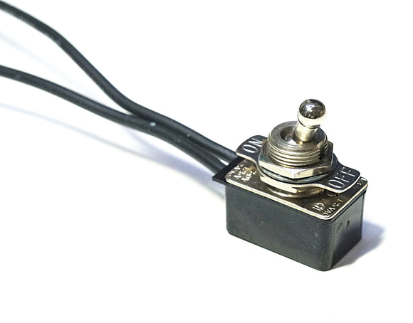 Gaynor 6600-6699 SPST Toggle Switch With Wires