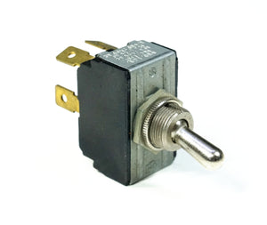 Cutler Hammer 215 DPST Toggle Switch With Spade Terminals 15 Amps
