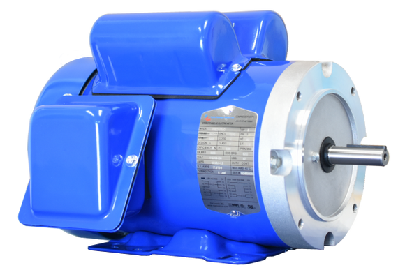 North American Single Phase 1.5 HP 3600 RPM 56C TEFC Motor