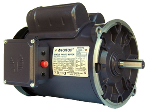 Techtop RD1-RS-TF-56Y-4-B-C-.5 TEFC .5 HP 1800 RPM 56Y  Single-Phase Auger Motor