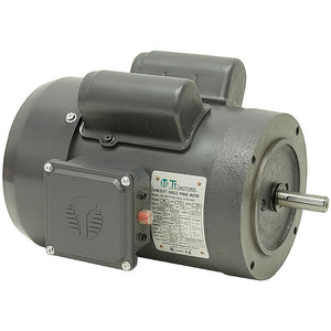 Techtop RD1-RS-TF-56HC-4-B-C-2 2 HP 1800 RPM 56HC TEFC Single-Phase Farm Duty Motor