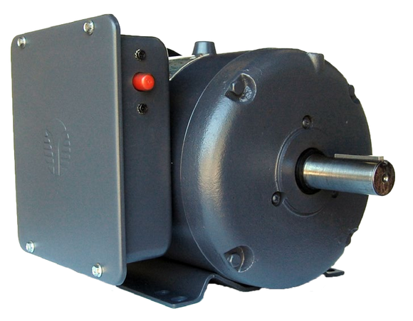 Techtop RD1-RS-TF-184TC-4-B-B-5 5 HP 1800 RPM 184TC TEFC Single-Phase Farm Duty Motor