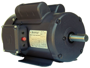 Techtop RD1-RS-TF-143T-4-B-C-1 1 HP 1800 RPM 143T TEFC Single-Phase Farm Duty Motor