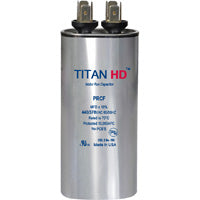 TITAN HD Run Capacitor 15 MFD 440/370 Volt  Round