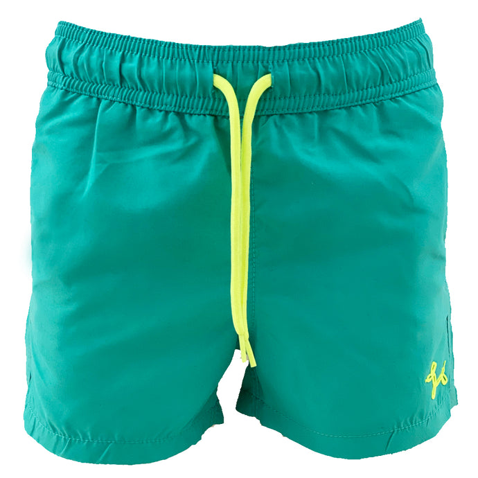 Green Seashells MAGIC boys Swimshorts