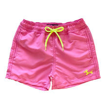 Load image into Gallery viewer, Pink-Seahorse MAGIC boys Swimshorts