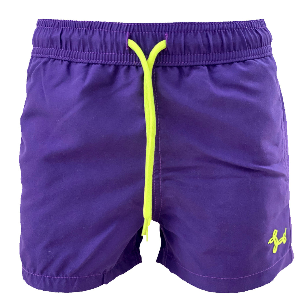 Purple Fish MAGIC boys Swimshorts