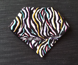 Bib - Colourful Zebra