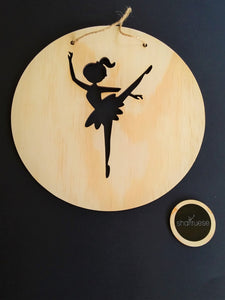 Wall Plaque - Natural Ballerina - SHARTRUESE
