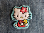 Hello Kitty Patch - Blue