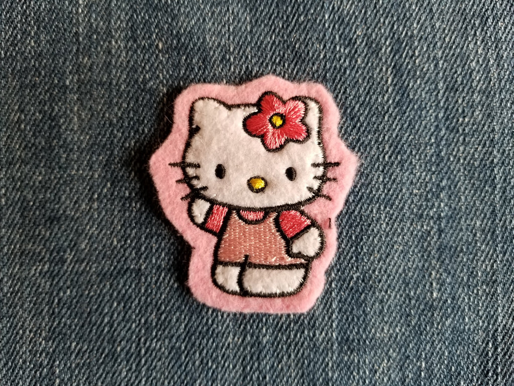 Hello Kitty Patch - Pink